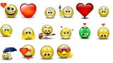 Emoticons 3d romantiche Msn Messenger