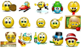 Emoticons 3d Big Msn Messenger
